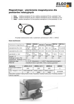 Magnetringe - pierścienie magnetyczne dla - ELGO