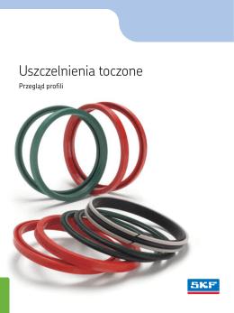 Profile uszczelnień toczonych - katalog PL