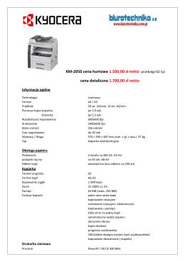 kyocera km-2050