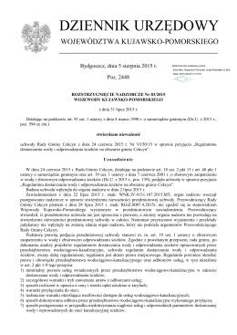 Rozstrzygnięcie nadzorcze Nr 83/2015 z dnia 31 lipca 2015 r.