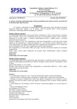 Samodzielny Publiczny Szpital Kliniczny Nr 2 PUM w Szczecinie