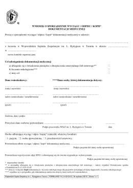formularz do pobrania 3 - Wojewódzki Szpital Zespolony im. L