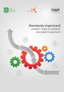 Publikacja pn. Standardy organizacji praktyk i staży w szkołach