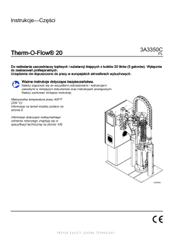 3A3350C, Therm-O-Flow 20, Instructions-Parts, Polish