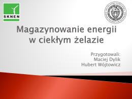 Magazynowanie energii w ciekłym żelazie - CBI Pro