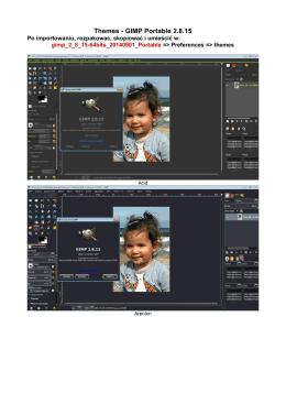 Themes - GIMP Portable 2.8.15