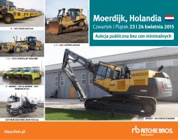 Moerdijk, Holandia - Ritchie Bros. Auctioneers