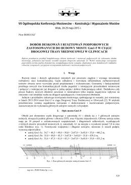 borucki p. - VII Ogólnopolska Konferencja Mostowców