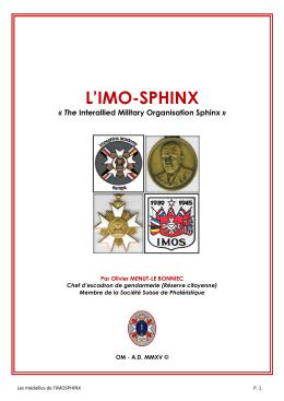 Imos Sphinx Historique 2015