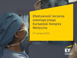 Efektywność leczenia onkologicznego