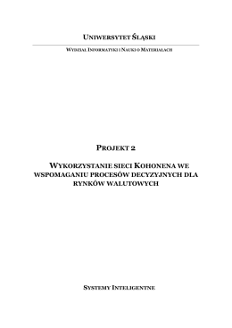 Projekt 2 - Mariusz Ch