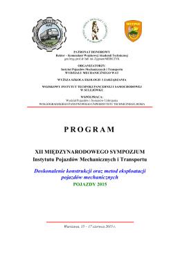 Warszawa – Białobrzegi, 15 – 17 czerwca 2015r.