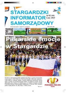 nr 02 (64) Luty 2015 - Stargard Szczeciński pod szczęśliwą gwiazdą