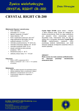 CRYSTAL RIGHT CR-200