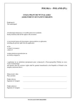 POLSKA – POLAND (PL)