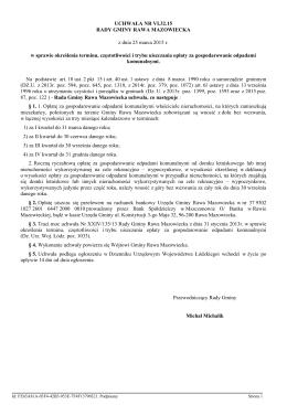 Uchwała Nr VI.32.15