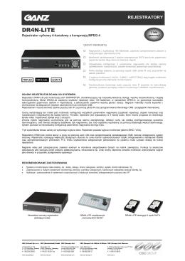 DR4N-LITE - System Serwis