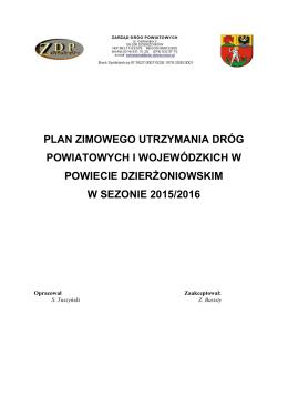 Plan zimowego utrzymania dróg powiatowcy i woj 2015_2016_