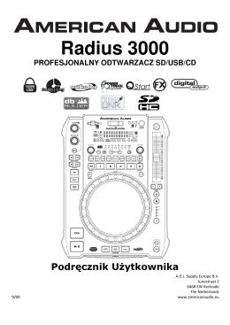 Radius 3000 - Pro Lighting