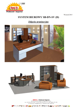 SYSTEM BIUROWY SB-DN-SV (D)