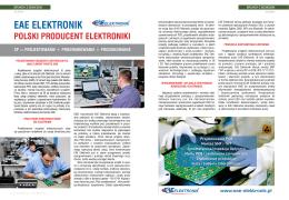 Polski producent elektroniki