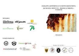 PROGRAM - Polskie Towarzystwo Antropologiczne