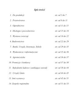POBIERZ plik pdf z listą wystawców XXV Wystawy