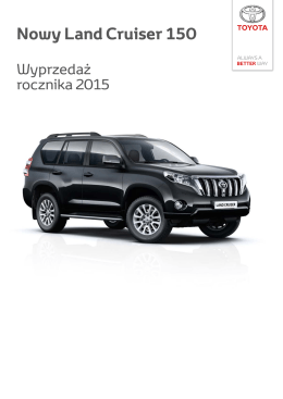 Nowy Land Cruiser 150