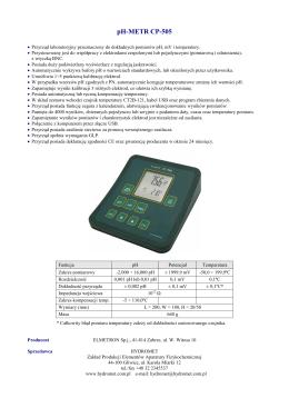 pH-METR CP-505