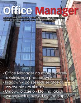 Office Manager na miarę potrzeb dzisiejszego pracodawcy