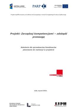 Projekt: Zarządzaj kompetencjami – zdobądź przewagę