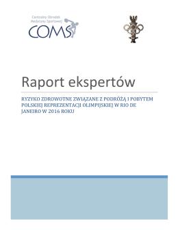 Pobierz Raport Ekspertów