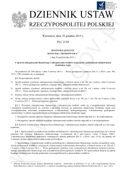 Dz.U. 2015 r. poz. 2144
