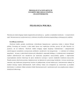 FILOLOGIA POLSKA - Rada Samorządu Studentów WFPiK