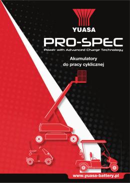 Pro Spec - AKBA Akumulatory
