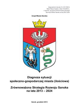 Zrównoważona Strategia Rozwoju Sanoka na lata 2013