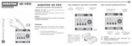 Instrukcja obsługi – AURATON 4D PRO