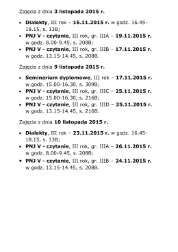 PNJ V - czytanie - in.tu.koszalin.pl