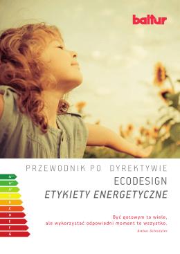 ETYKIETY ENERGETYCZNE