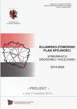 Kujawsko-pomorski plan spójności komunikacji drogowej i kolejowej