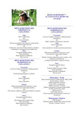 Pobierz menu w pdf