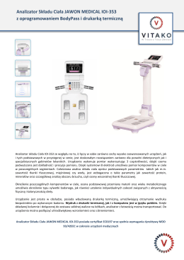 Jawon Medical IOI-353 opis rozszerzony <-- pobierz plik