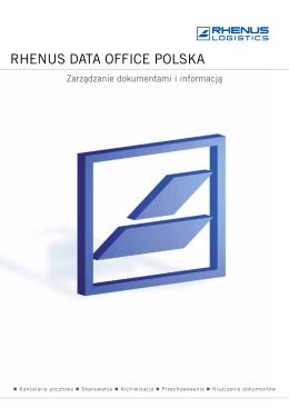 Pobierz PDF - Rhenus Data Office Polska Sp. z oo