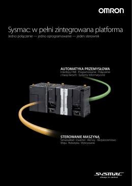Sysmac: w pełni zintegrowana platforma