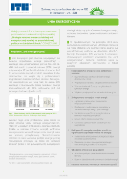 UNIA ENERGETYCZNA - Instytut Techniki Budowlanej