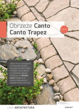 Obrzeże Canto Canto Trapez
