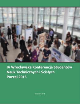 IV Wrocławska Konferencja Studentów Nauk - Serwis e-ISBN