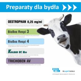 Szczepionki dla bydła