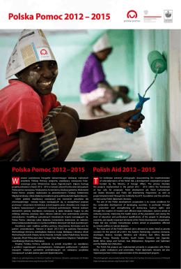 Polska Pomoc 2012 – 2015