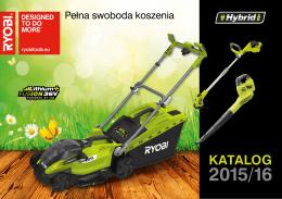 Ryobi Katalog 2015